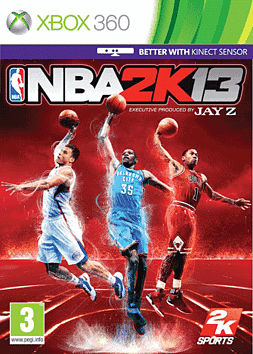 NBA 2k13 Xbox 360 Cover Art
