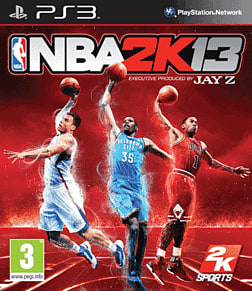 NBA 2k13 PlayStation 3 Cover Art