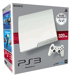 PlayStation 3 320GB Slim - White PlayStation 3