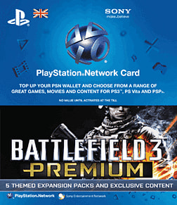 Battlefield 3 Premium PlayStation Network Cover Art