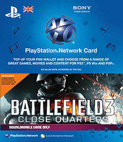 Battlefield 3: Close Quarters PlayStation Network Cover Art
