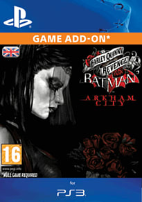 Batman: Arkham City Harley Quinn's Revenge PlayStation Network Cover Art