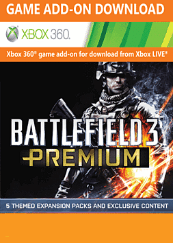 Battlefield 3 Premium Xbox Live Cover Art