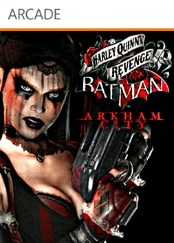 Batman: Arkham City Harley Quinn's Revenge Xbox Live Cover Art