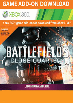 Battlefield 3: Close Quarters Xbox Live Cover Art