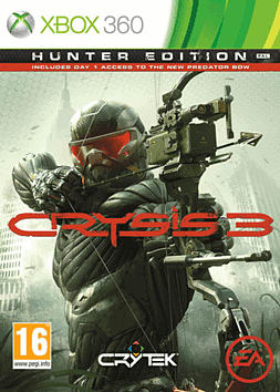 Crysis 3: Hunter Edition Xbox 360 Cover Art
