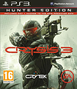 Crysis 3: Hunter Edition PlayStation 3 Cover Art