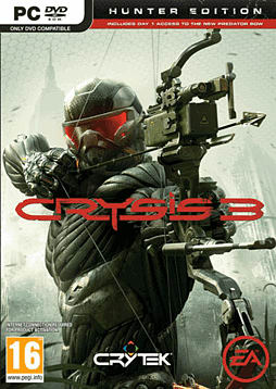 Crysis 3: Hunter Edition PC Games Cover Art
