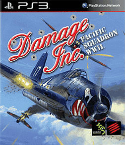Damage Inc. Pacific Squadron WWII PlayStation 3 Cover Art