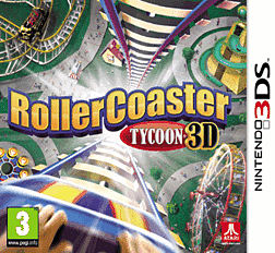 Rollercoaster Tycoon 3D 3DS Cover Art