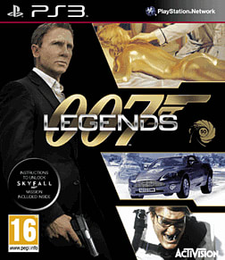 James Bond: 007 Legends PlayStation 3 Cover Art
