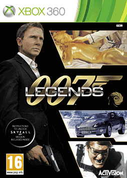 James Bond: 007 Legends Xbox 360 Cover Art