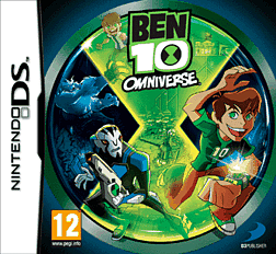 Ben 10 Omniverse DSi and DS Lite Cover Art