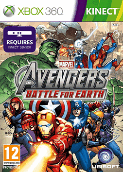 Marvel Avengers: Battle for Earth Xbox 360 Kinect