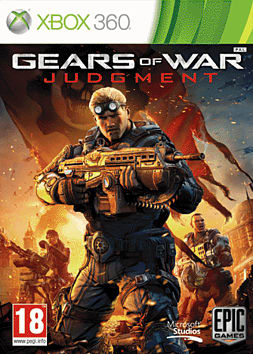 Gears of War: Judgment Xbox 360 Cover Art