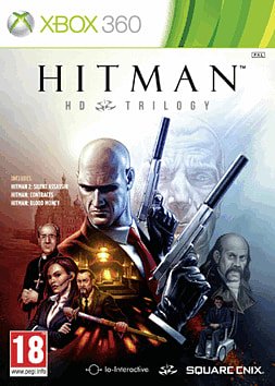 Hitman: HD Trilogy Xbox 360 Cover Art