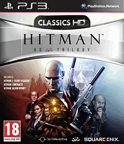 Hitman: HD Trilogy PlayStation 3 Cover Art