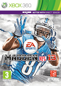 Madden 2013 Xbox 360 Cover Art