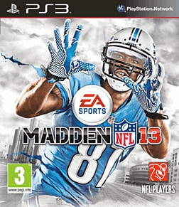 Madden 2013 PlayStation 3 Cover Art