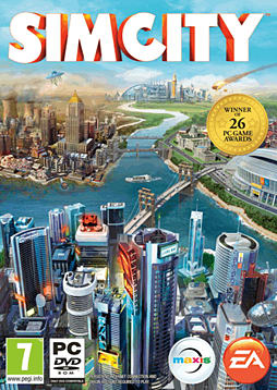 SimCity PC Games Cover Art