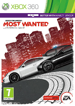 Need for Speed: Most Wanted Xbox 360 Cover Art