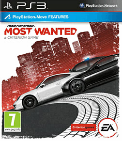 Need for Speed: Most Wanted PlayStation 3 Cover Art