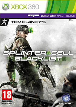 Tom Clancy's Splinter Cell: Blacklist Xbox 360 Cover Art