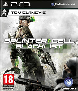 Tom Clancy's Splinter Cell: Blacklist PlayStation 3 Cover Art