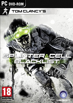 Tom Clancy's Splinter Cell: Blacklist PC Games Cover Art