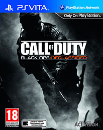 Call of Duty: Black Ops Declassified PS Vita Cover Art