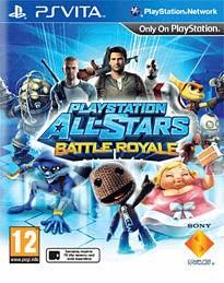 PlayStation All-Stars Battle Royale PS Vita Cover Art