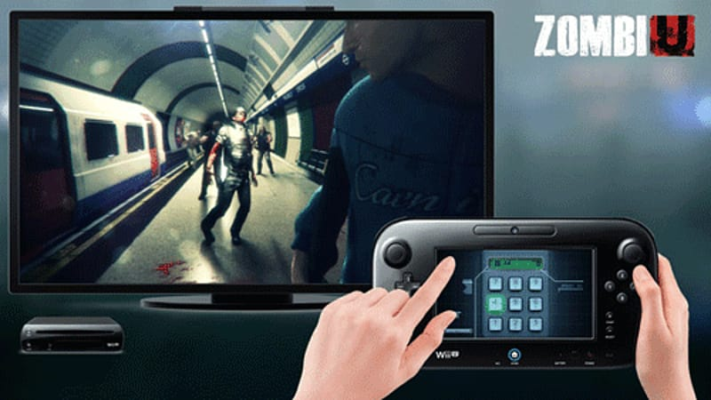 Use the GamePad in ZombiU on Wii U at game