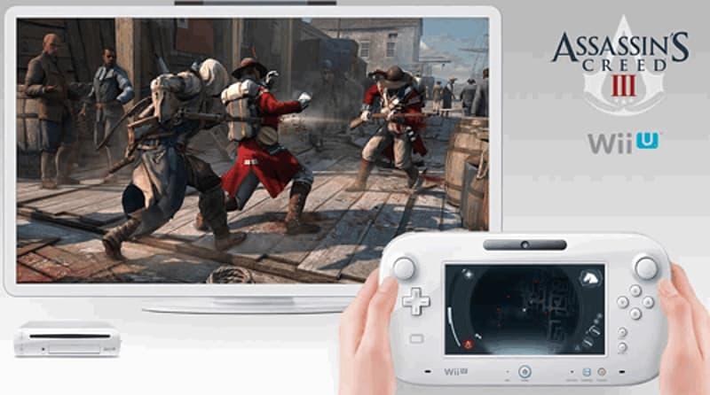 Assassin's Creed III Wii U Cover Art