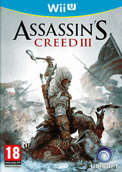 Assassin's Creed III Wii U Cover Art