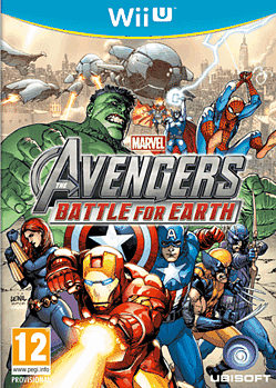 Marvel Avengers: Battle for Earth Wii U Cover Art