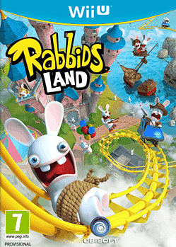 Rabbids Land Wii U Cover Art