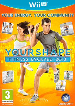 Your Shape: Fitness Evolved 2013 Wii U Cover Art