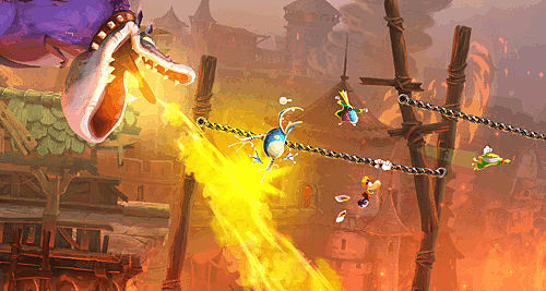 Rayman Legends review for Wii U, Xbox 360, PlayStation 3 and PC at GAME