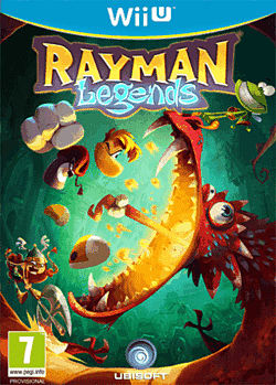 Rayman Legends Wii U Cover Art