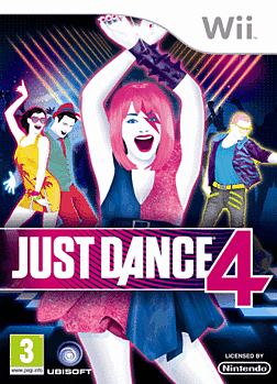 Just Dance 4 Wii Cover Art