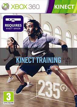 Nike + Kinect Training Xbox 360 Kinect Cover Art