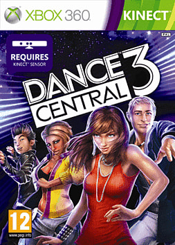 Dance Central 3 Xbox 360 Kinect Cover Art