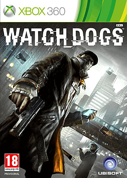 Watch Dogs Xbox 360 Cover Art