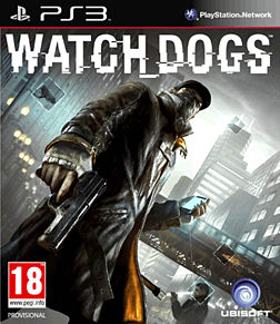 Watch Dogs PlayStation 3 Cover Art