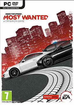 Need for Speed: Most Wanted PC Games Cover Art