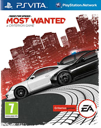 Need for Speed: Most Wanted PS Vita Cover Art