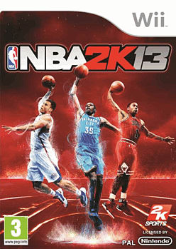 NBA 2k13 Wii Cover Art