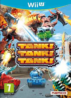 Tank! Tank! Tank! Wii U Cover Art
