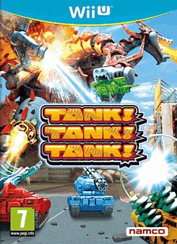 Tank! Tank! Tank! Wii U Cover Art