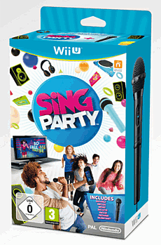 SiNG Party Wii U Cover Art